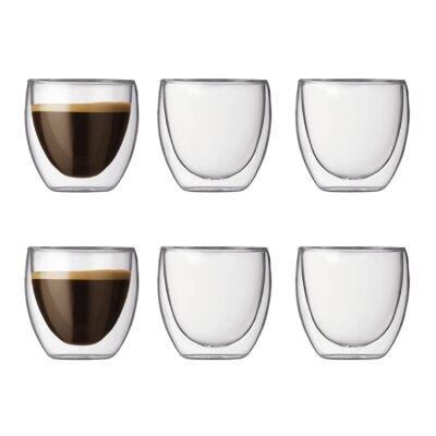 Bodum Pavina espressolasi, 6-pack