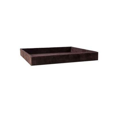 101 Copenhagen Suede tray tarjotin, ruskea