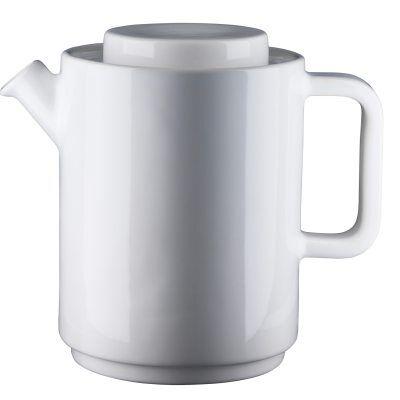 Design: Kristina Stark. Caf kahvikannu, L, valkoinen kannu/valkoinen kansi
