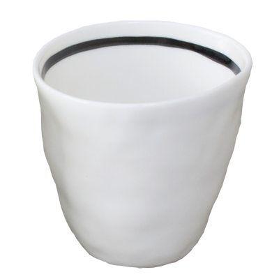 Kajsa Cramer Home Patchy espressokuppi raidallinen, valkoinen