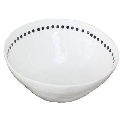 Kajsa Cramer Home Patchy kulho Dot, valkoinen