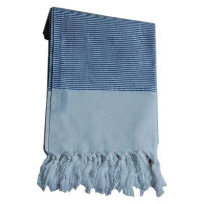Lou & Friends Stripy hamam-pyyhe 180x100, sininen