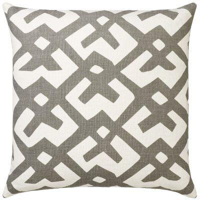 Chhatwal & Jonsson Dadra tyynynpäällinen M, luonnonvalkoinen/harmaa