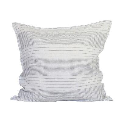 Tell Me More Angelo tyynynpäällinen 65x65, harmaa/valkea