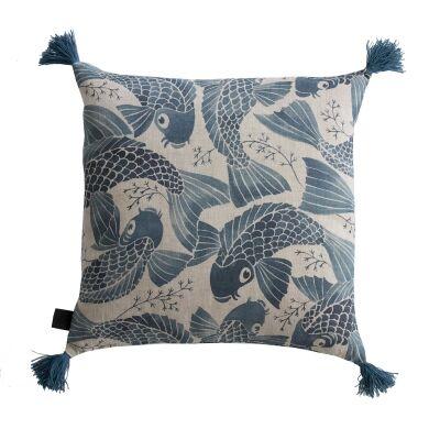 Kajsa Cramer Home Bliss Blue tyynynpäällinen