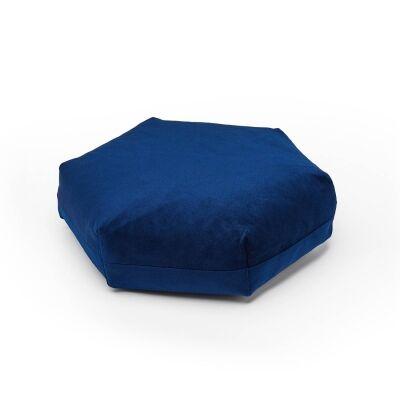 Puik Plus hexagon tyyny, tummansininen