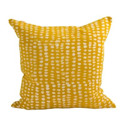 Afroart Spot-tyynynpäällinen, 50x50, keltainen