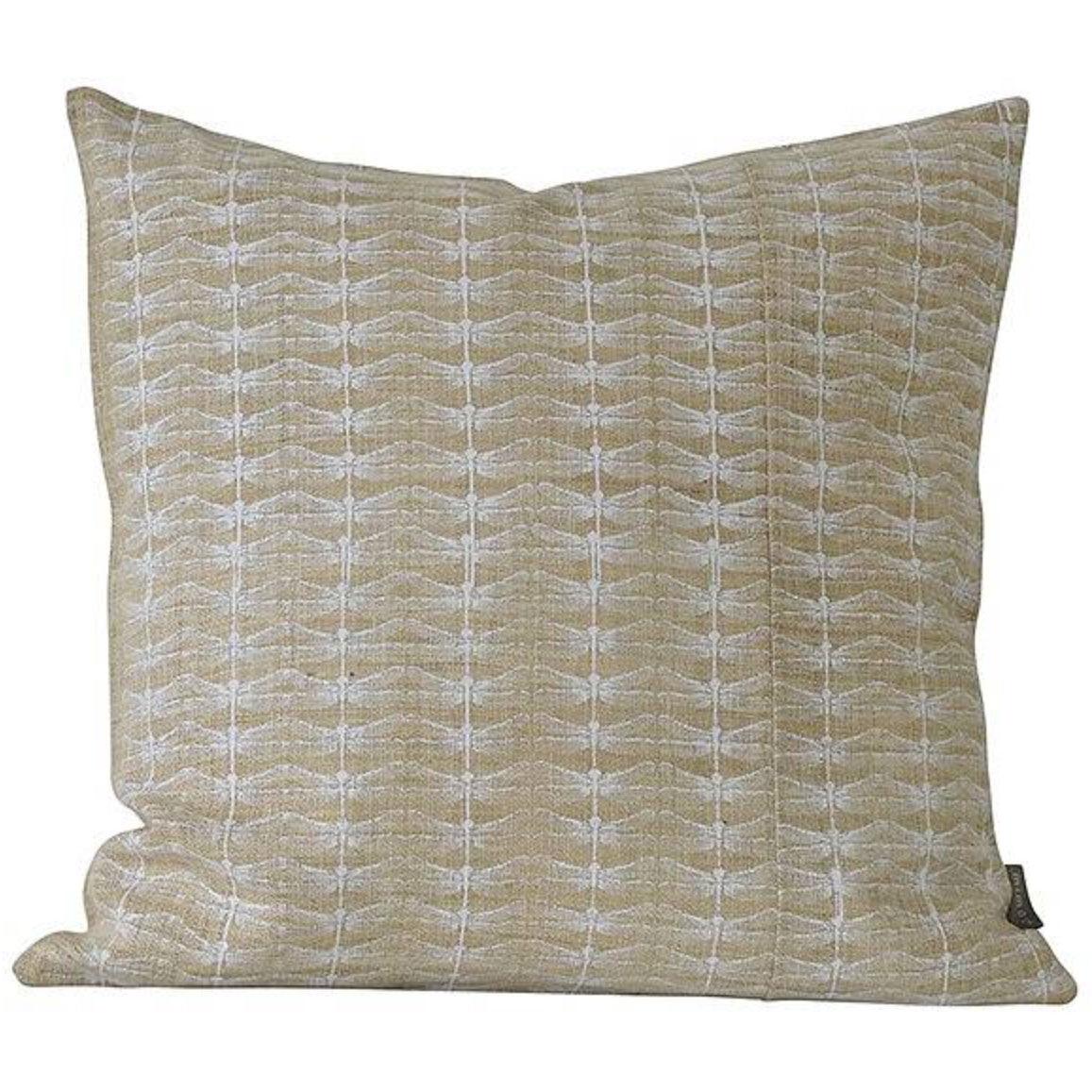 Mimou-Dragonfly Cushion 50x50 cm, White