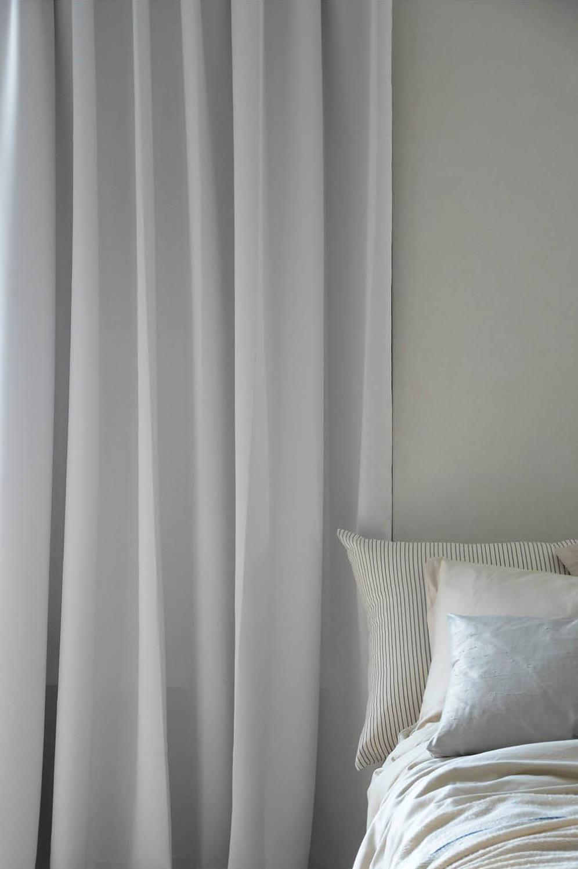 Mimou-Hotel Verhot, Pimentävät, 290x250 cm, Pearl white