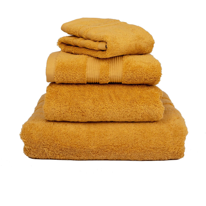 Mille Notti-Fontana Towel ECO 50x70 cm, Yellow