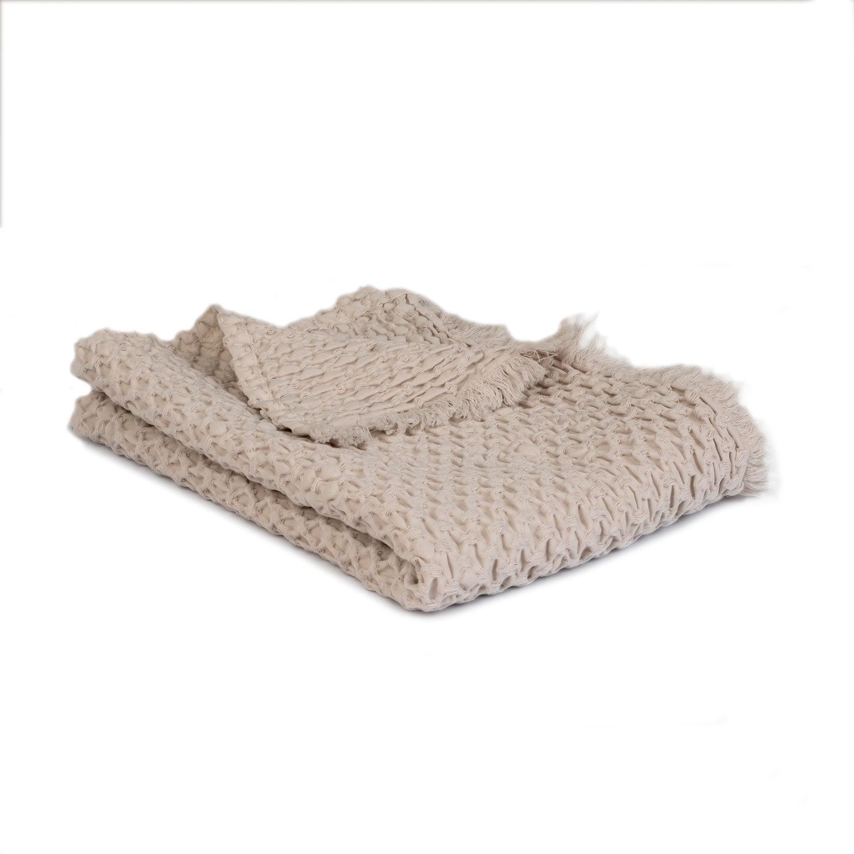 Mille Notti-Mare Baby Throw 60x100cm, Sand