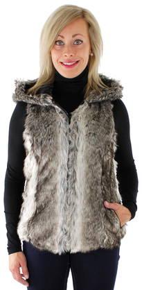 Only Karvaliivi Bilbao hooded fur