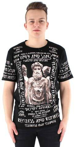 ONLY&SONS Only & Sons t-paita Michael  - MUSTA / BLACK - Size: M