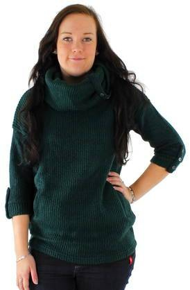 ONLY Neule Only Cindy Button cowlneck