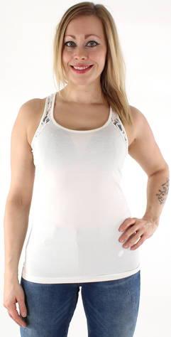 Image of Vero Moda toppi Maxi My soft pitsi  - VALKOINEN / WHITE - Size: XS