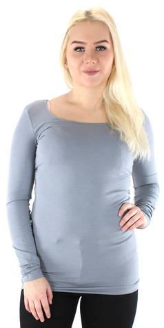 Image of Vero Moda Paita Maxi my soft long  - SINIHARMAA / BLUE GREY - Size: XS
