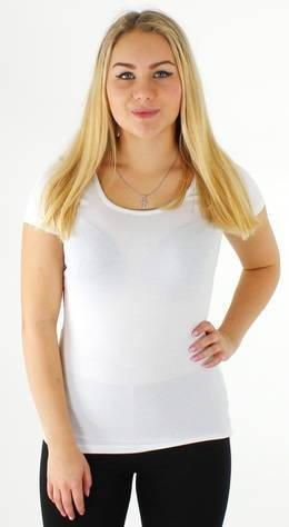 Image of Vero Moda T-paita Maxi my  - VALKOINEN / WHITE - Size: XS