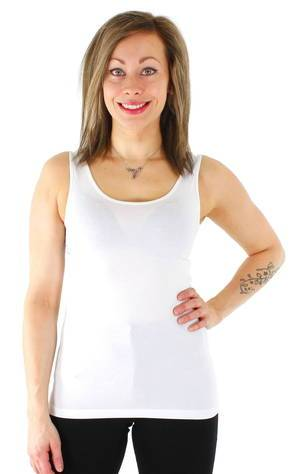 Image of Vero Moda toppi Maxi My soft uu  - VALKOINEN / WHITE - Size: XS