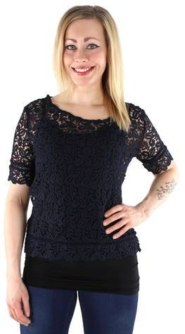 Only t-paita Amy  - T.SIN / DARK BLUE - Size: 40