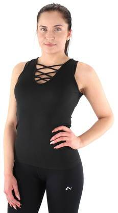 Image of Only Play toppi Lace Up  - MUSTA / BLACK - Size: L