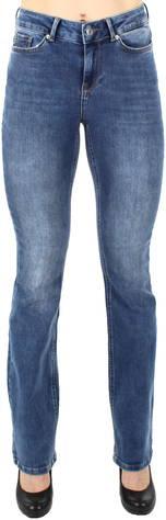 Vero Moda Farkut Laura Mr Slim Bootcut  - SININEN / BLUE - Size: 26/32