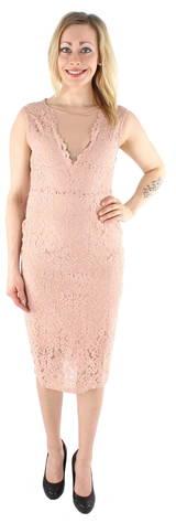 Vero Moda mekko Lena  - MAHOGANY ROSE - Size: M