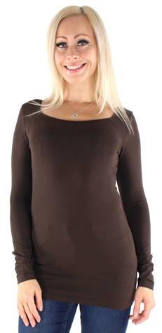 Image of Vero Moda Paita Maxi my soft long  - T RUSKEA / DARK BROWN - Size: XS