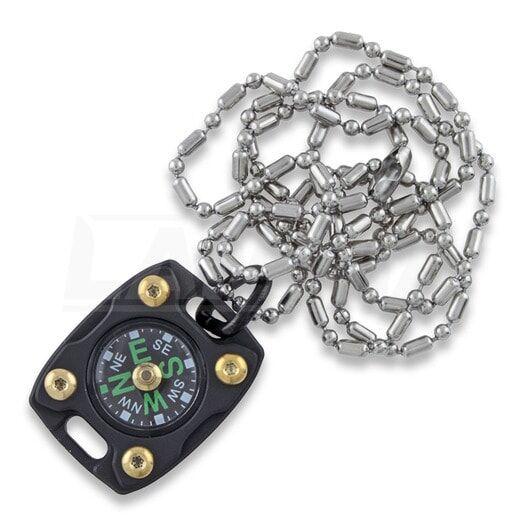 MecArmy CMP2 TI kompassi, PVD black