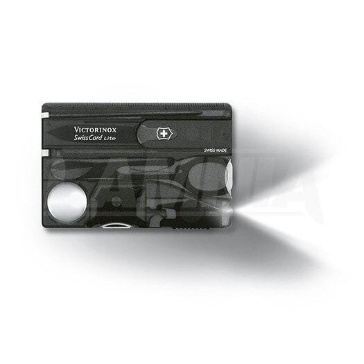 Victorinox Swisscard Lite monitoimityökalu, lite onyx