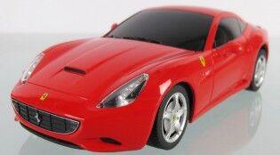 e-ville.com RC Ferrari California - Radio-ohjattava kilpa-auto - Keltainen