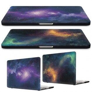 "e-ville.com Galaksi suojakuori Macbook Pro Retina 15"" - Violetti"
