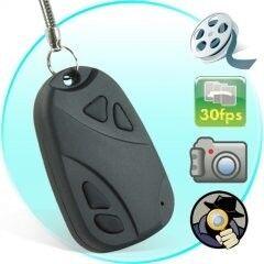 e-ville.com Autonavaimen mallinen spy-kamera - 8GB