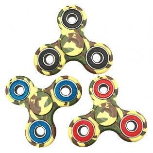 e-ville.com Taktinen Fidget Spinner -stressilelu - Vihreä