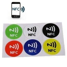 e-ville.com NFC tarrat 6 kpl
