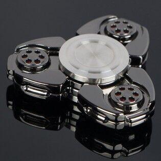 e-ville.com Heavy Spinner - Fidget Spinner - Musta