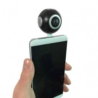e-ville.com 360 kamera Android-puhelimeen