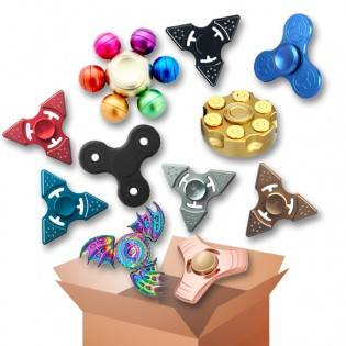 e-ville.com Fidget Spinner yllätyspaketti