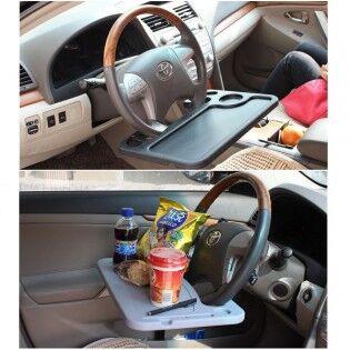 e-ville.com Auton rattiin kiinnitettävä pöytä