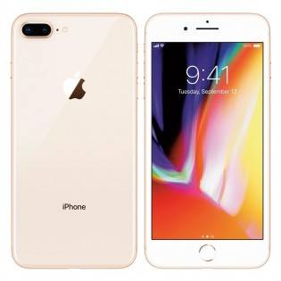 Apple Tehdashuollettu Apple iPhone 8 Plus - Kulta, 64GB