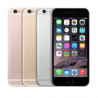 e-ville.com Tehdashuollettu Apple iPhone 6S Plus -puhelin - Ruusukulta, 128GB