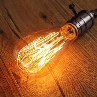 e-ville.com Retrolight Edison aito hehkulamppu 40W E27