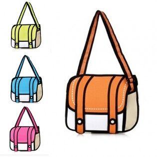 e-ville.com Sarjakuvalaukku - Sininen