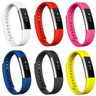 e-ville.com Fitbit Alta / Alta HR silikoniranneke - Valkoinen