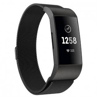 e-ville.com Fitbit Charge 3 teräsranneke - Ruusukulta