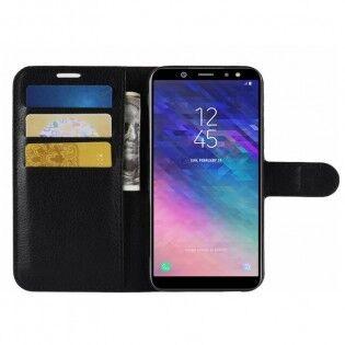 e-ville.com Samsung Galaxy A6 flipcover suojakuori - Violetti