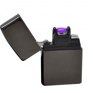e-ville.com Zippo-mallinen plasmasytytin - Musta