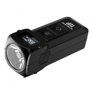 e-ville.com Nitecore TUP LED -taskulamppu 1000lm OLED-näytöllä