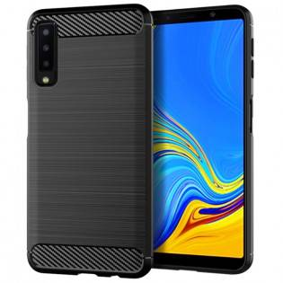 e-ville.com Samsung Galaxy A7 (2018) suojakuori - Musta