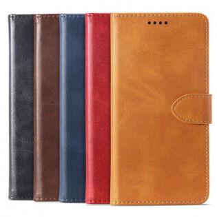 e-ville.com Samsung Galaxy A30 flip cover -suojakuori - Tummansininen