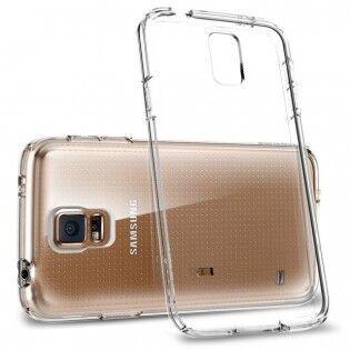 e-ville.com Samsung Galaxy S5 läpinäkyvä suojakuori